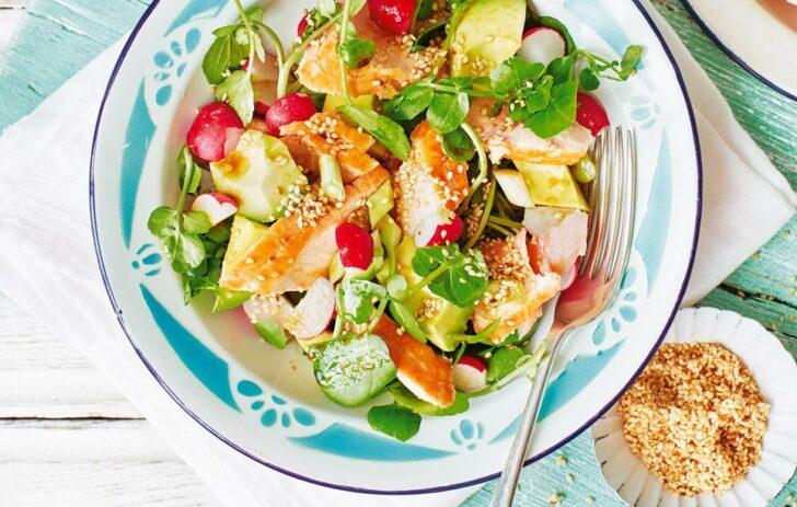 Japanese-style-salmon-and-avocado-salad-BestRecipeFinder