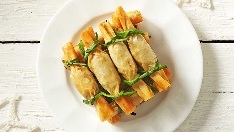 Mushroom-and-Ricotta-Filo-Crackers-BestRecipeFinder