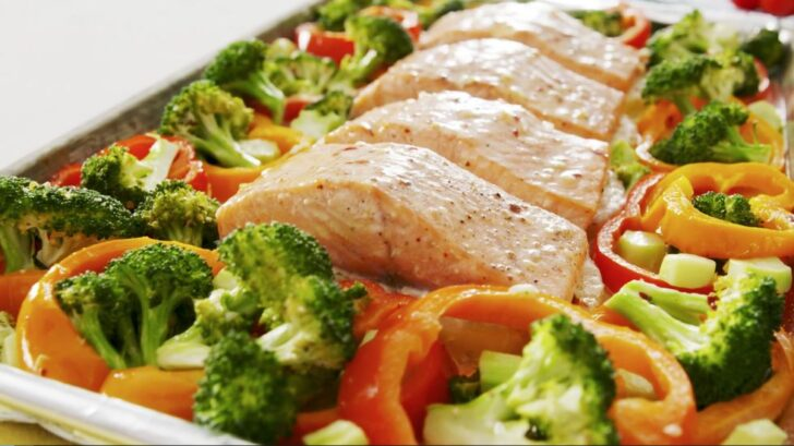 Pineapple-Salmon-Sheet-Pan-Dinner-BestRecipeFinder