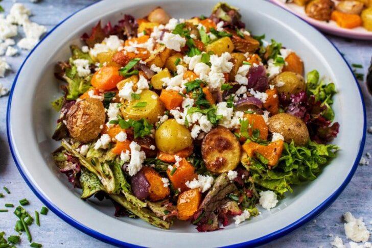 Roasted-Vegetable-Winter-Salad-BestRecipeFinder