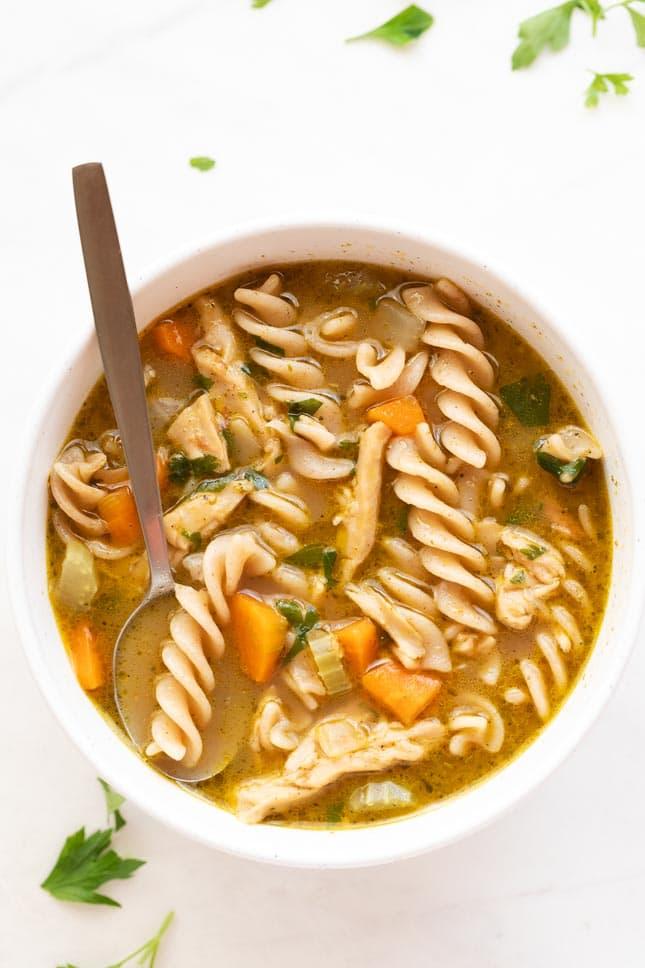 Vegan-Chicken-Noodle-Soup-BestRecipeFinder