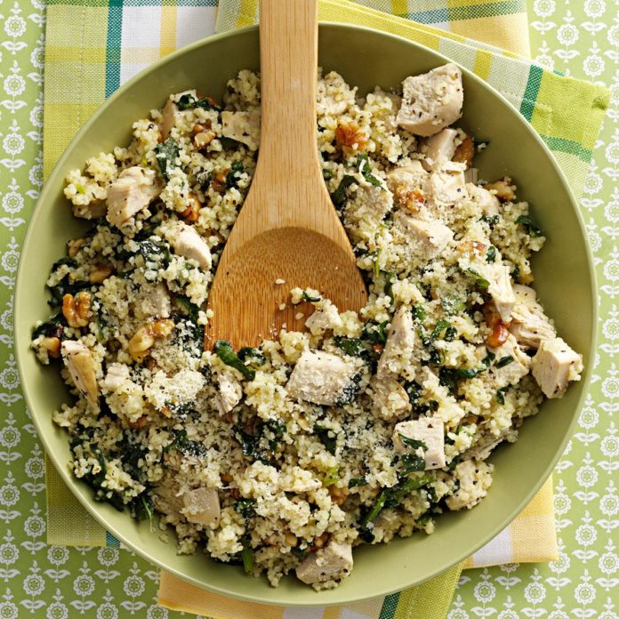 Parmesan-Chicken-Couscous-BestRecipeFinder