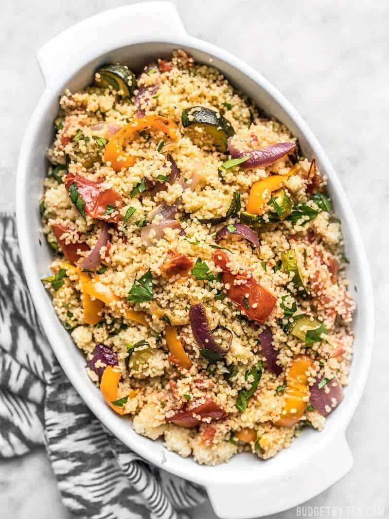 Roasted-Vegetable-Couscous-BestRecipeFinder