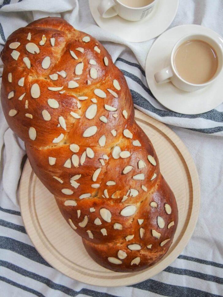 Tsoureki-Greek-Easter-bread-BestRecipeFinder
