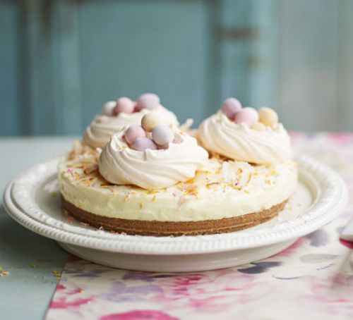 meringue-nest-cheesecake-with-mini-eggs-BestRecipeFinder