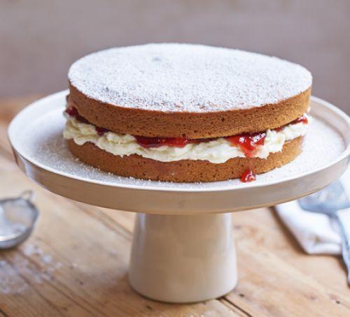 vegan-sponge-cake-BestRecipeFinder