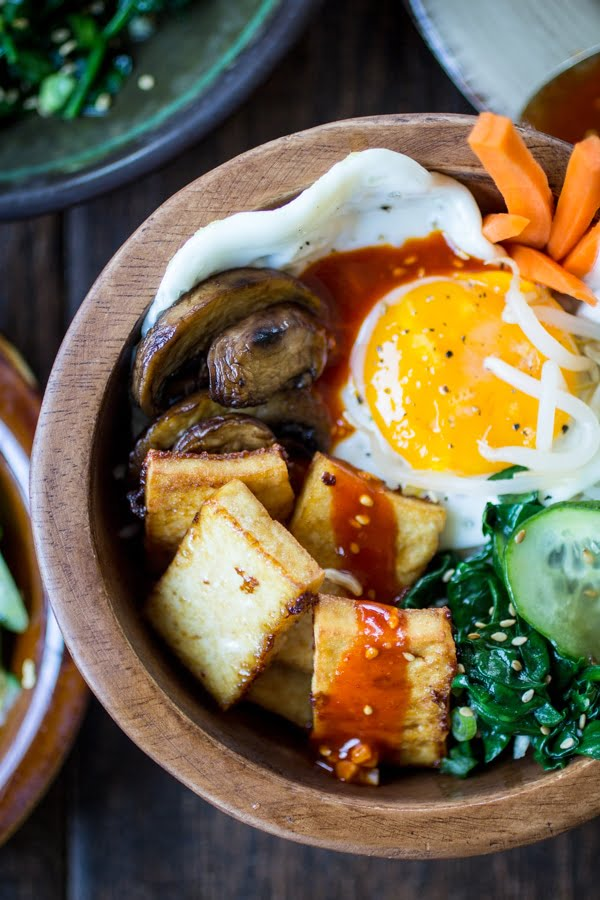 vegetarian-korean-bibimbap-bowls-BestRecipeFinder